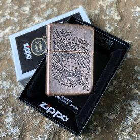 【並行輸入品】 ZIPPO ジッポー Harley Davidson-Eagle ハーレーダビッドソン オイルライター レギュラーサイズ 29664