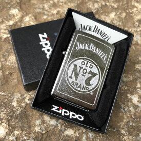 【並行輸入品】 ZIPPO ジッポー Jack Daniels Tennessee Whiskey/ジャックダニエル Chrome Lighter Pipe Insert オイルライター レギュラーサイズ マットブラック 29757