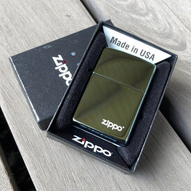 【並行輸入品】 ZIPPO ジッポー ポリッシュ ティール 青緑/ブルーグリーン 49191 ZIPPO ロゴ入り USA直輸入 レギュラーサイズ ブラス 真鍮