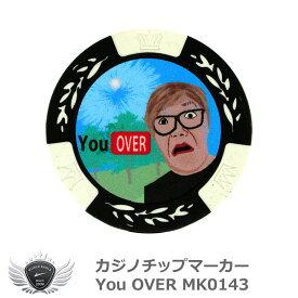 カジノチップマーカー You OVER MK0143 メール便選択可能