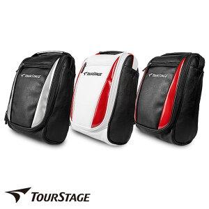 有名ブランド ツアーステージ メンズ ゴルフシューズ バッグケース 大きな開閉口で大人用シューズの出し入れがとってもスムーズ。裏生地あり。サッカー、野球、テニスなど様々なスポー