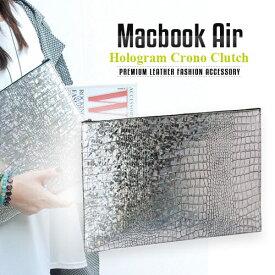 パソコン ケース【abbiNY】 PCバッグ MacBook Air対応 本革インナーケース GAZE Hologram Croco【 マックブックエアー ケース / PCケース 】GZ3866 レザー 革 スマートアビィ キャリングバッグ D1001 送料無料 10proa 4580492288668