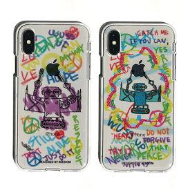 iPhone XR ケース落書き ソフトクリアケースDS15234i61 カバー iPhoneXR カバー アイフォン 6.1 10s roa10P 4589753042346