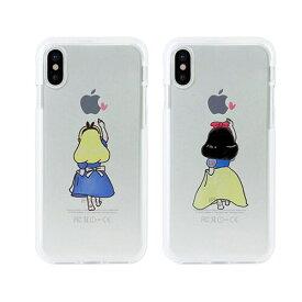 iPhoneXR ケース カバーiPhone XR ソフトクリアケース 白雪姫 アリス アイフォンDS14816i61 スマホ スマートフォン docomo au softbankディズニー Disney アイフォン 6.1 ポイント 送料無料 4589753038165