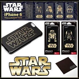 iPhone6 スターウォーズ ケース【金箔押し/ハードケース】ブランド カバー【オリジナル クリーニングクロス付】PGDCS920SW924C3 iphone 6 docomo au softbankポイント 送料無料 10P starwars