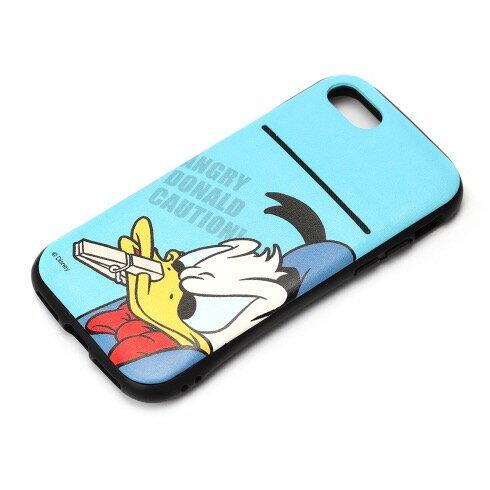 iPhone8/7 用 タフポケットケース ドナルドダックPG-DCS411DND iPhone 7 iphone 8 Disneyバー ハードケース カバー ディズニー アイフォン10P 4562358134111