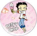 ベティー(ベティ) ブープ betty boop缶バッチアイスクリーム裏に少ししみがあります