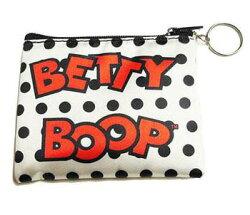ベティー(ベティ)ブープキュートな小銭入れ財布ちょっとした小物入れにもポーチアクセサリーケースサテン水玉