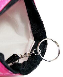 ベティー(ベティ)ブープキュートな小銭入れ財布ちょっとした小物入れにもポーチアクセサリーケースサテンピンクカジュアルスタイル