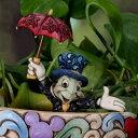 ピノキオ ジミニークリケットJiminy Cricket Small Planter Stake ジム・ショアー フィギュアガーデン 植木鉢の飾り