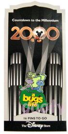 Countdown to the Millennium 2000ミレニアム カウントダウン ピンバッチPIN NO#17 A Bug's Lifeバグズ・ライフ アメリカ 国内販売【楽ギフ_包装】