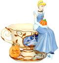 シンデレラ パンプキンチャイ ティーカップ Cinderella's Pumpkin Chai Teacup置物 フィギュア