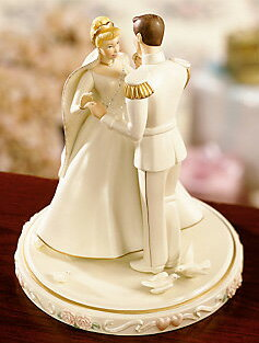 Charming Cinderella Prince Charming Lenox Porcelain Cinderellau0027s Wedding Day Cake  Topper Wedding Cake Topper Figurine Figure