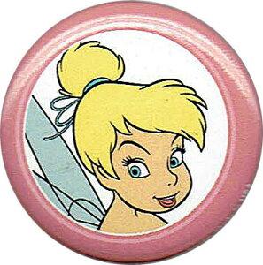 ティンカーベル DISNEY Tinker Bell ピーターパン ティンク フェイス缶バッチloungefly ラウンジフライサイズにご注意ください!
