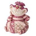 ディズニー ジム・ショアーMini Cheshire Cat FigurineAlice in Wonderland不思議の国のアリス チシャ猫フィギュア木彫り風 置物…