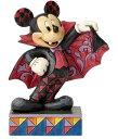 ディズニー ジム・ショアーミッキーマウス ハロウィンVampire Mickey Mouse Figurineミッキー ハロウィン 吸血鬼 バンパイアー …