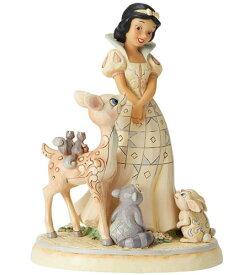大人気!ディズニー トラディションシリーズWhite Woodland Snow WhiteSnow White's seven dwarfsホワイトウッドスノーホワイト白雪姫と森のお友達たち置物 フィギュア白雪姫と7人のこびとのフィギュア
