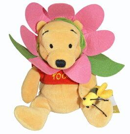 くまのプーさん Winnie the Pooh Flower Pooh Pinkお花のプー ピンクビーンバッグ 縫いぐるみ