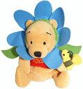 くまのプーさん Winnie the Pooh Flower Pooh Blueフラワー 花びらプー ブルービーンバッグ 縫いぐるみ