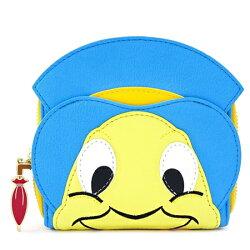 ディズニーDisneyピノキオジミニークリケット財布PinocchioJiminyCricketCosplayWalletラウンドチャック2つ折りウオレットカードケースおさいふloungeflyラウンジフライ