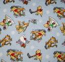 Winnie the Pooh Piglet Tiggerくまのプーさん ピグレット ティガーファブリック フリース 布50cm単位160センチ幅 フリース生地…