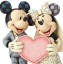 ディズニー ジム・ショアーミッキーマウス&ミニーマウス ウエディングMickey and Minnie with Wedding Figurineミッキーミニー 結…