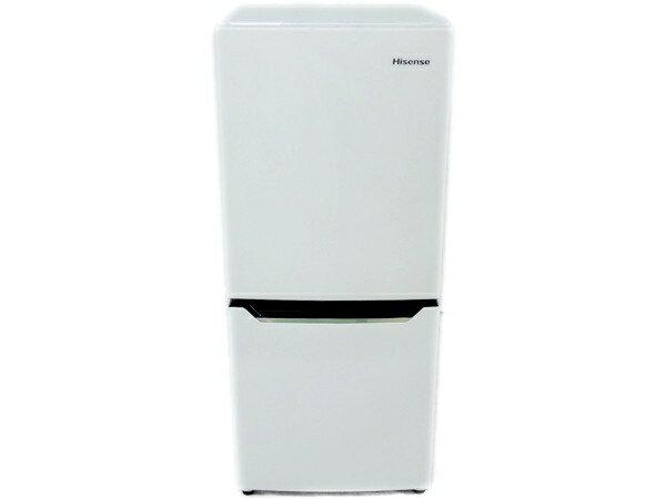Hisense ハイセンス 2ドア冷凍冷蔵庫 HR-D1302 ホワイト(130L)【アウトレット】【送料込(北海道・九州・離島・沖縄別途)】【代引き不可】