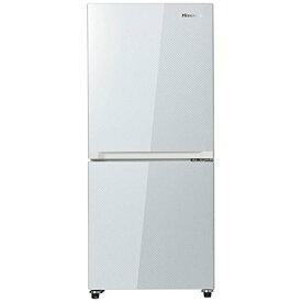 Hisense ハイセンス 2ドア冷凍冷蔵庫 HR-G13A-W ガラスホワイト(134L)【アウトレット】【送料込(北海道・九州・離島・沖縄別途)】【代引き不可】