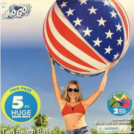 H2OGO! 特大 ビーチボール 直径152cm 2個セット ジャンボビーチボール BESTWAY ベストウェイ コストコ 【送料無料(沖縄別途)】【代引き不可】