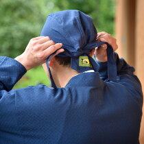 和帽子(黒・エンジ・生成・紺)【作務衣(さむえ)にぴったり!ご住職様に大好評の綿100%の日本製和風帽子】