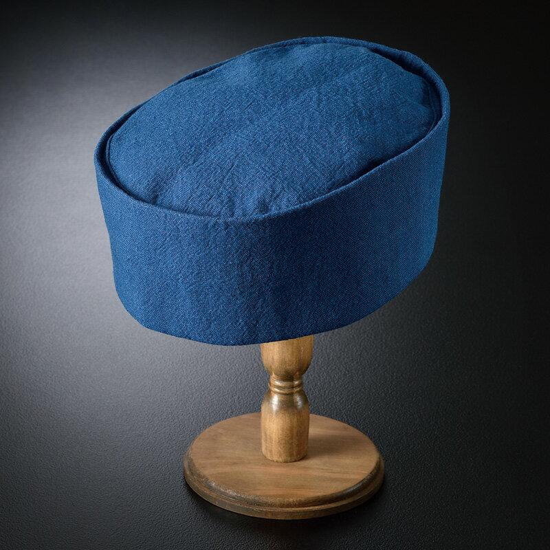 藍染利休帽