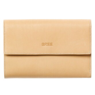 The product gift which is targeted for 翌々営業日発送 BREE bully folio wallet BORNHOLM 109 185750109 present Rakuten box receipt from the next day