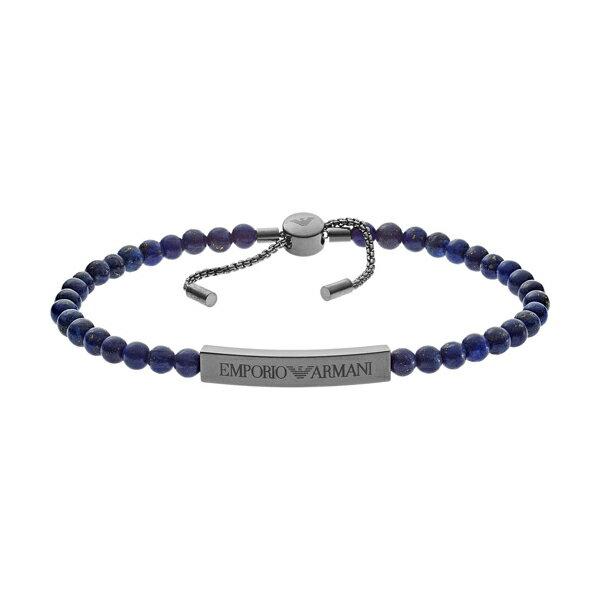 クーポンで1,000円OFF! エンポリオアルマーニ bracelet EGS2505060 ダークブルー×ガンメタル ジュエリー EMPORIO ARMANI ブレスレット ユニセックス