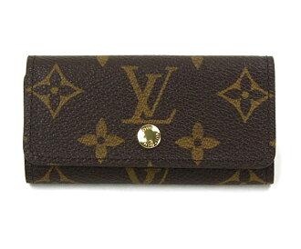Louis Vuitton key case Monogram multicore 4 LOUIS VUITTON M 62631 Vuitton 4 key holder Womens mens
