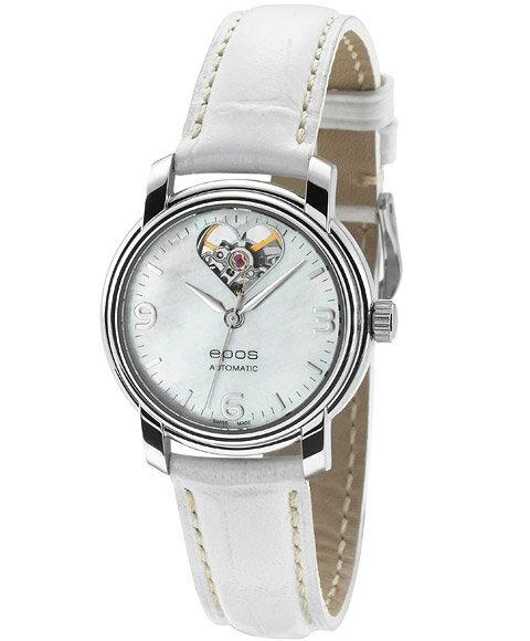 エポス エモーション オープンハート ダイヤモンド 4314HTWHP レディース 腕時計 自動巻き epos Emotion