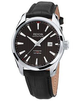 Interesting 3401 BK watch men's automatic self-winding epos EPOS ETA2824 / SW200