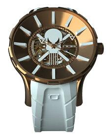 ワケあり アウトレット 55%OFF! ノア ゴースト GPGST002 自動巻き 腕時計 メンズ NOA GHOST ※入荷時期によってストラップはラバーまたはレザーとなります。