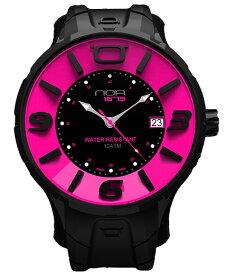 ワケあり アウトレット 55%OFF! ノア イリス ブラック IRBP003 腕時計 メンズ レディース ユニセックス NOA IRIS BLACK ※入荷時期によってストラップはラバーまたはレザーとなります。