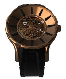 ワケあり アウトレット 55%OFF! ノア スケル GPSKL001 自動巻き 腕時計 メンズ NOA SKELL ※入荷時期によってストラップはラバーまたはレザーとなります。