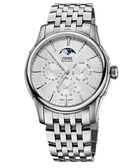オリス アートリエ コンプリケーション 58276894051M 腕時計 メンズ 自動巻き ORIS Artelier 582 7689 4051M メタルブレス