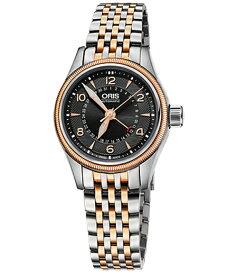 オリス ビッグクラウン ポインターデイト 59476804364M レディース 腕時計 ORIS Big Crown 594 7680 4364M メタルブレス