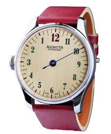 海外取り寄せ品 アジムート R1-BIT-WHS Back In Time 腕時計 メンズ AZIMUTH バックインタイム メンズ