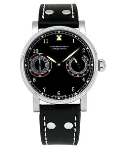 SCHAUMBURG【シャウボーグメンズ腕時計AUF&AB-FLIEGER2】レトロフリーガー