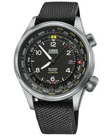 オリス ビッグクラウン プロパイロット 73377054164D(テキスタイル/ブラック) 腕時計 メンズ ORIS Big Crown 733 7705 4164D