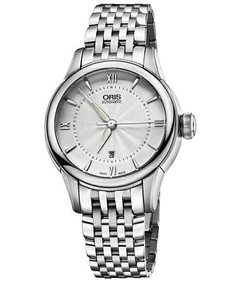 アウトレット 半額 オリス アートリエ デイト 56176874071M レディース 腕時計 自動巻き ORIS Artelier Date 561 7687 4071M メタルブレス