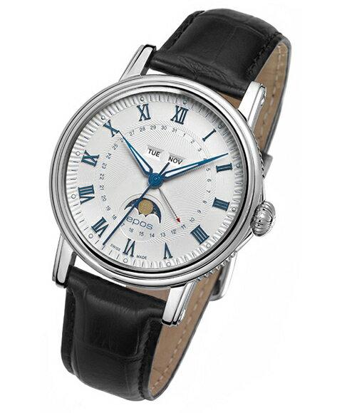 入荷予約販売 エポス エモーション カレンダー 3391RWH 自動巻き 腕時計 メンズ epos