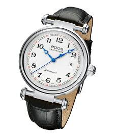 エポス オリジナーレ デイト 3430WH 腕時計 メンズ 自動巻 エポス epos レザーストラップ