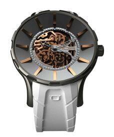 ワケあり アウトレット 55%OFF! ノア 16.75 SKL010 自動巻き 腕時計 メンズ NOA IRIS BLACK ※入荷時期によってストラップはラバーまたはレザーとなります。 自動巻 スケルトン
