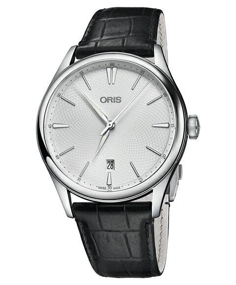 オリス アートリエ デイト 73377214051D 腕時計 メンズ ORIS Artelier Date 733 7721 4051D レザーストラップ
