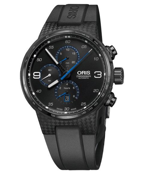 オリス ウィリアムズ クロノグラフ カーボンファイバー エクストリーム 67477258764R 腕時計 メンズ Oris Williams 674 7725 8764R